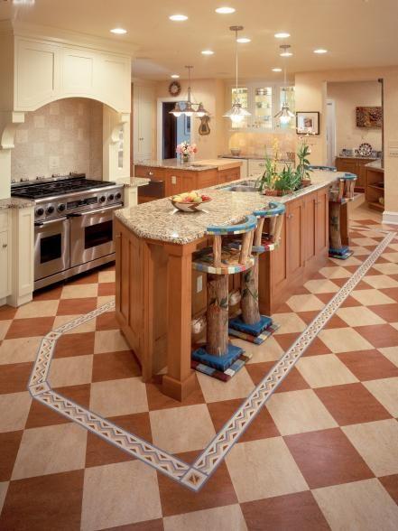 Low-Cost Linoleum Flooring
