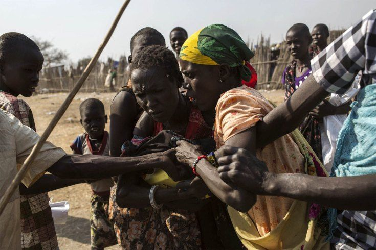 On the Brink of an Abyss: Fabio Bucciarelli in South Sudan - LightBox