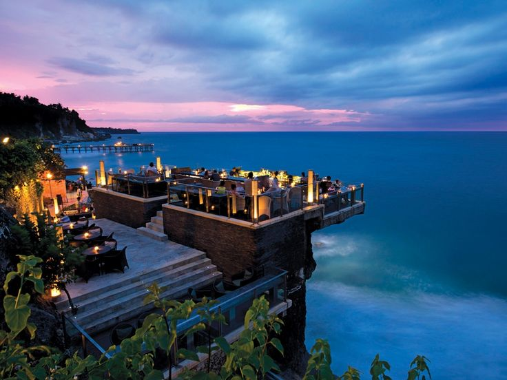 I love the Rock Bar Night life that you can find in Bali like that that is here. Simply a beautiful place to be and enjoy.