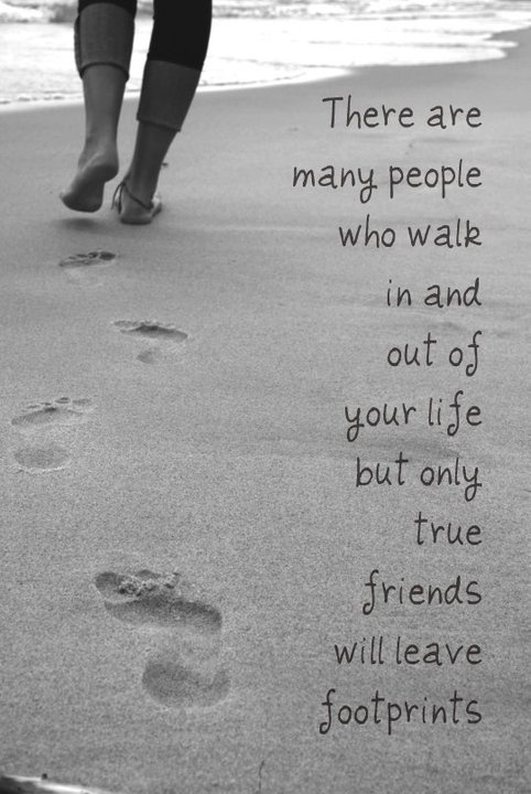 Friends Come And Go Quotes Footprints: 23 Best Footprints In The Sand Images On Pinterest