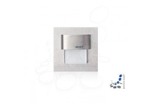 TANGO MINI Edelstahlgehäuse - Die modernen LED-Leuchten verbrauchen wenig Strom und können deshalb zeitlang betrieben werden, ohne dass hohe Betriebskosten entstehen.