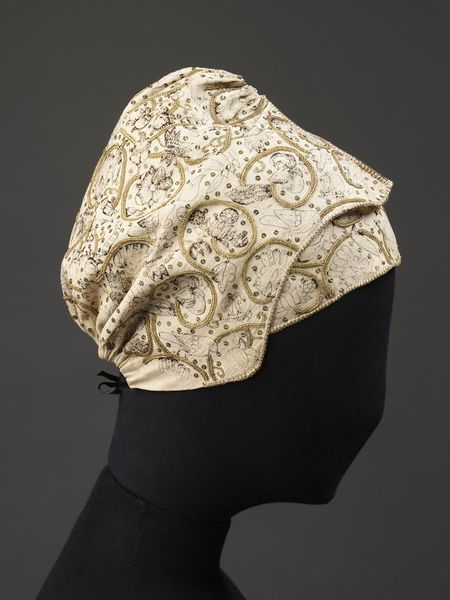 Coif and forehead cloth | V&A Search the Collections