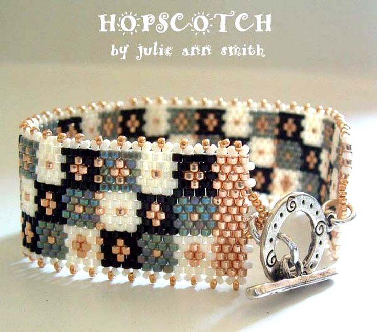 HOPSCOTCH Bracelet Pattern | Bead-Patterns