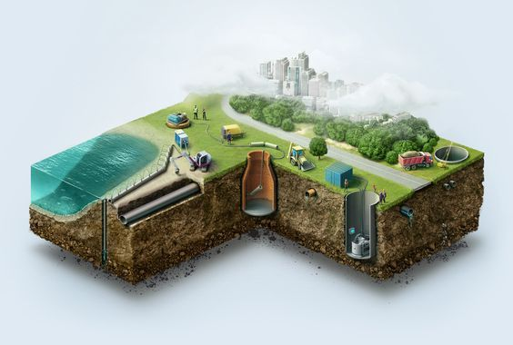 Аква-Сервис - Шнековое бурение, водопонижение, пневмомолот: