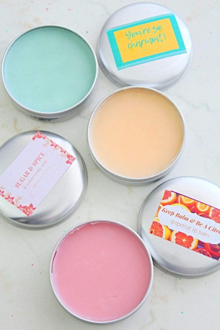 This DIY tinted lip balm uses only natural ingredients so