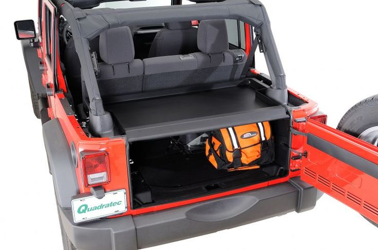 Tuffy Security Products Security Deck Enclosure for 11-15 Jeep® Wrangler & Wrangler Unlimited JK