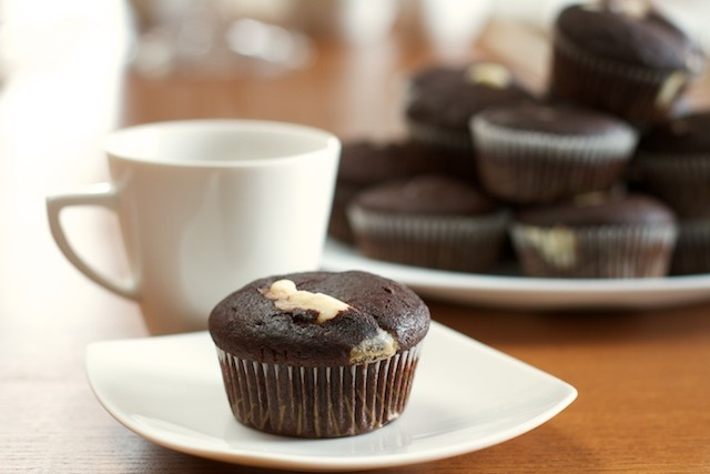 Muffinka kakaowa :)