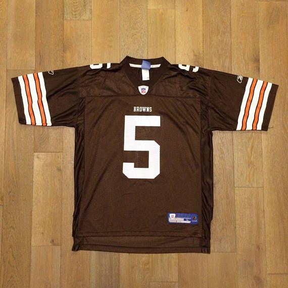 Vintage NFL Cleveland Browns Jersey   Jeff Garcia  Reebok