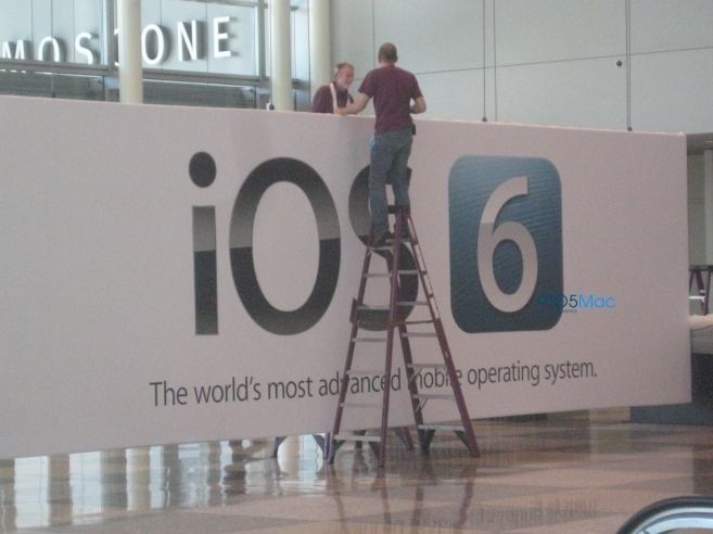 Apple Banners Prove iOS 6 Announcement At WWDC 2012
