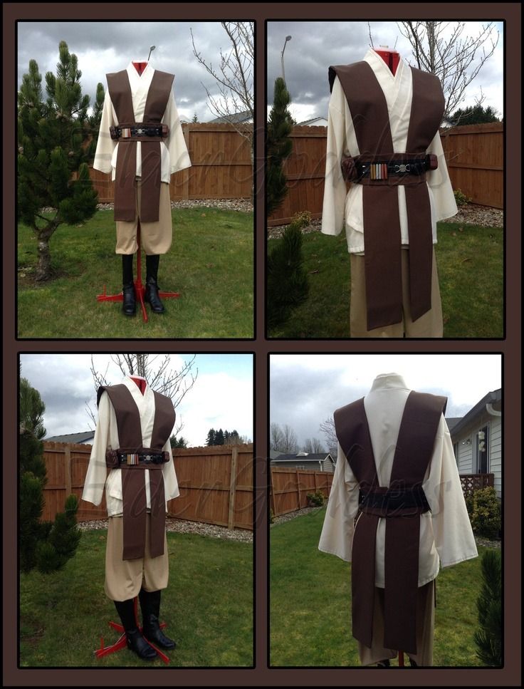 This costume included... 2 - Long sleeve Tunic 1 - Pants 1 - Tabard ...