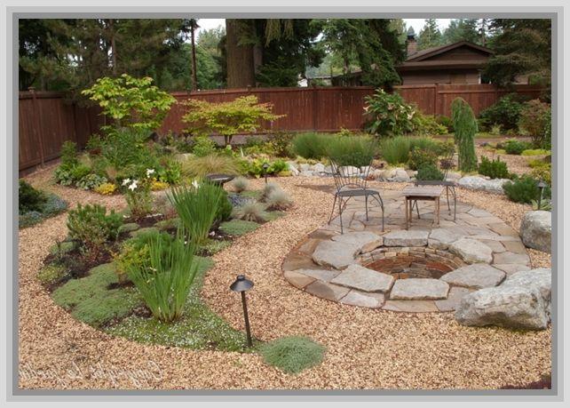 17 best ideas about cheap gravel on pinterest front - Cheap no grass backyard ideas ...