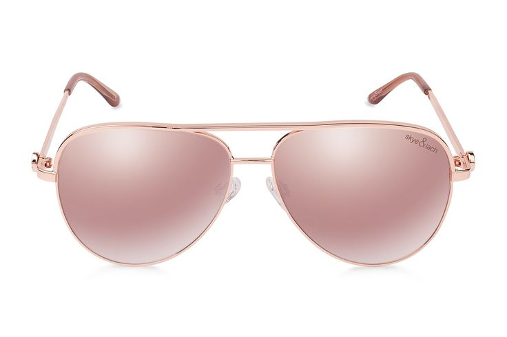 EMPIRE Rose Gold   Oversized Aviator   Skye & Lach Eyewear
