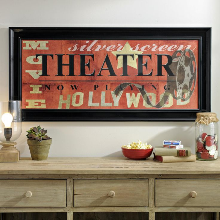 Theater Room Decor Ideas Pinterest Media D On Old: 1000+ Ideas About Framed Art Prints On Pinterest