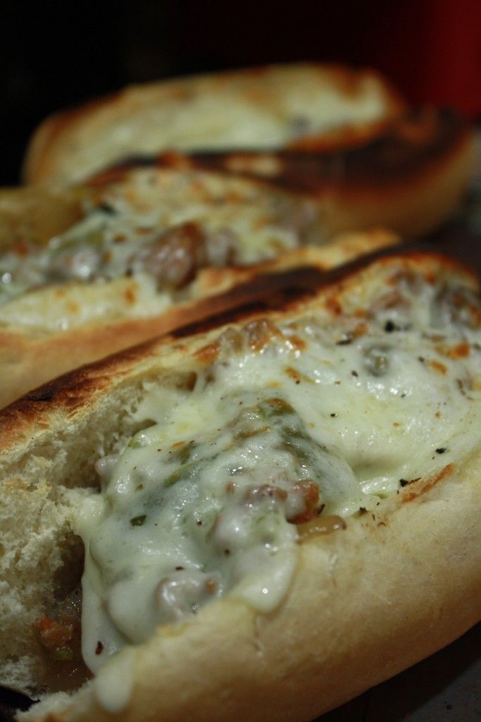 Crock Pot Philly Cheese Steaks.