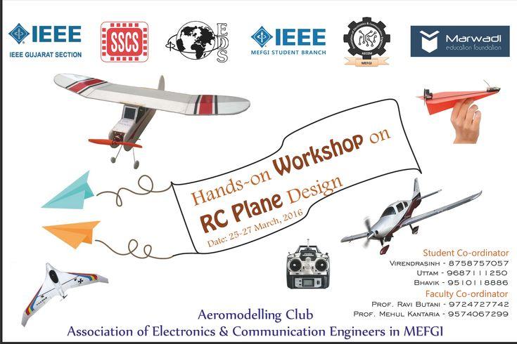 Aeromodelling Club facilitates the students to learn the technology behind designing of RC Plane including Multi Rotors. #AeromodellingClub #Electronics #RCPlane #Workshop #MEFGI