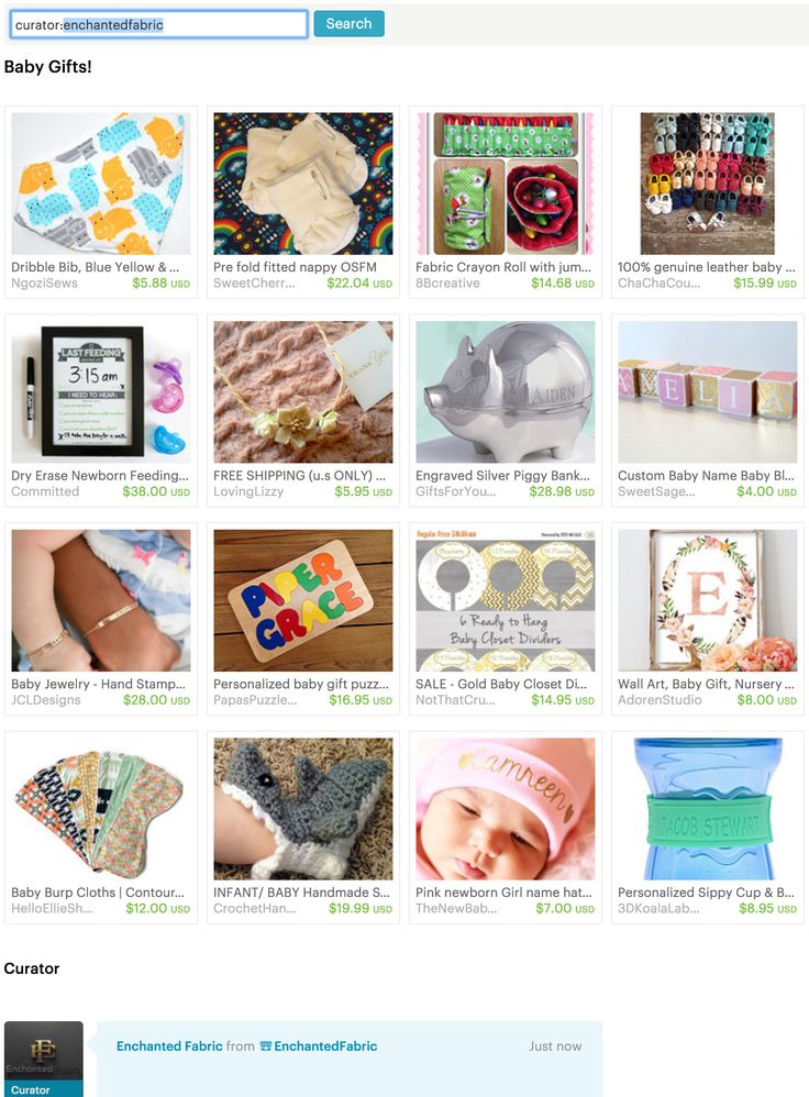 #Baby Gifts! -#Etsy Treasury from #EnchantedFabric.com