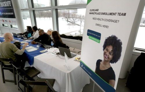 The deadline to sign up for private health insurance on the federal marketplace ... 1