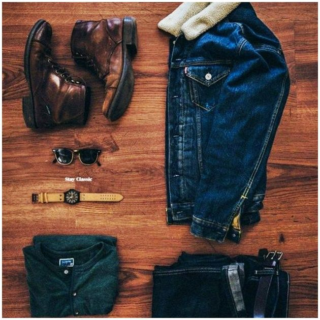 Stay Classic — Denim on Denim on Stay Classic. Stylish Mens Outfits, Casual Outfits, Men Casual, Casual Styles, Stylish Clothes, Smart Casual, Fashion Mode, Mens Fashion, Rugged Fashion