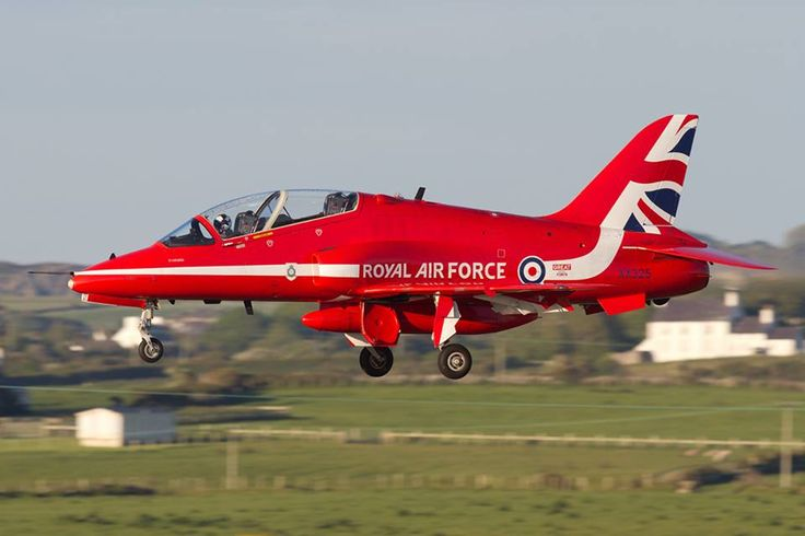 BAe Hawk T1a, Red Arrows 2015, RAF Valley.