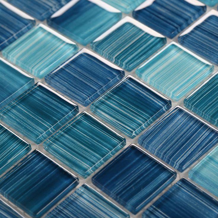 tile machine on sale at reasonable prices buy glass mosaic ktchen backsplash tile bathroom wall floor blue tiles mesh chips square crystal glass discount
