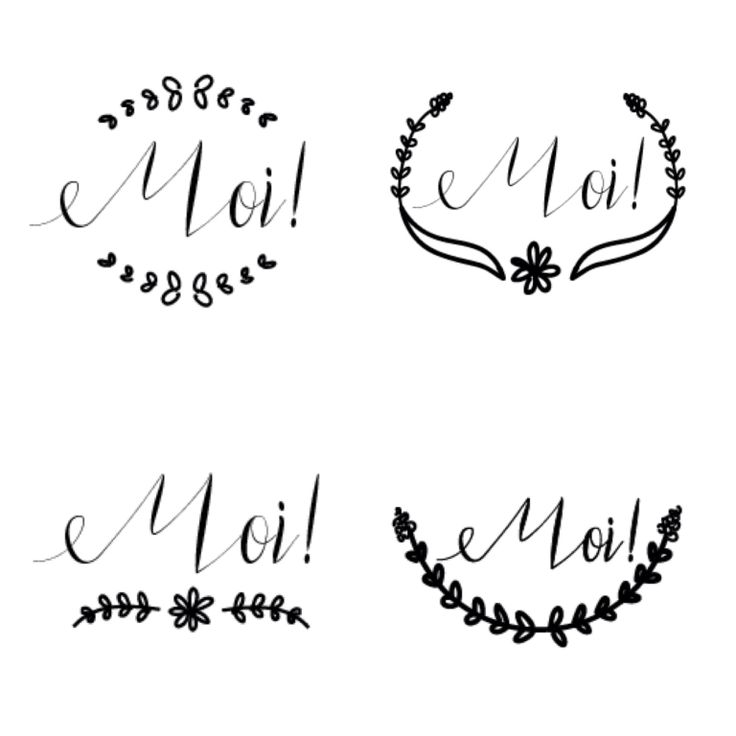 Logo ideation for made up restaurant called Moi. My idea is that it is a high class place where you get dressed up Marie Antonine style then socialize and enjoy French pastries.