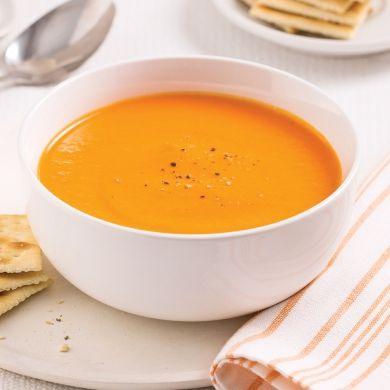 Crème de carottes - Recettes - Cuisine et nutrition - Pratico Pratique