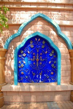 Decorated Door in Turpan- China ~ Silk road