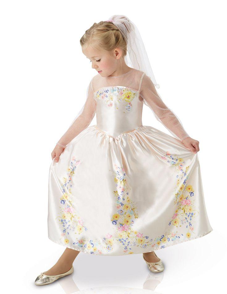 Déguisement mariage de Cendrillon™ le film fille : Ce déguisement de Cendrillon™ pour fille est sous licence officielle Disney™. Il se compose d'une robe et d'un voile. La robe de mariée de Cendrillon est de couleur... #IdeeCadeau #CadeauDeNoel #Noel2016 #NoelDeFille #JoyeuxNoel