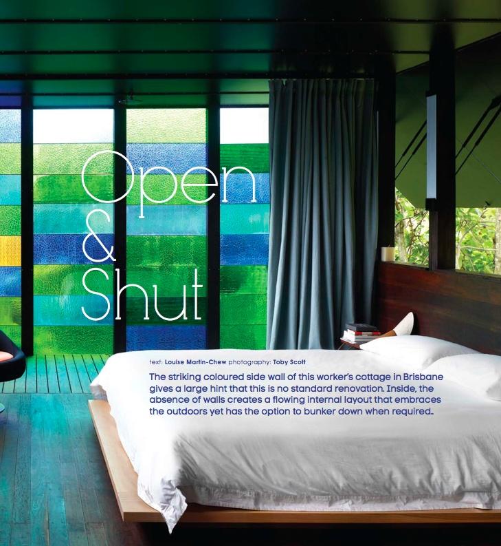 open & shut - photography: Toby Scott, architect: James Russell
