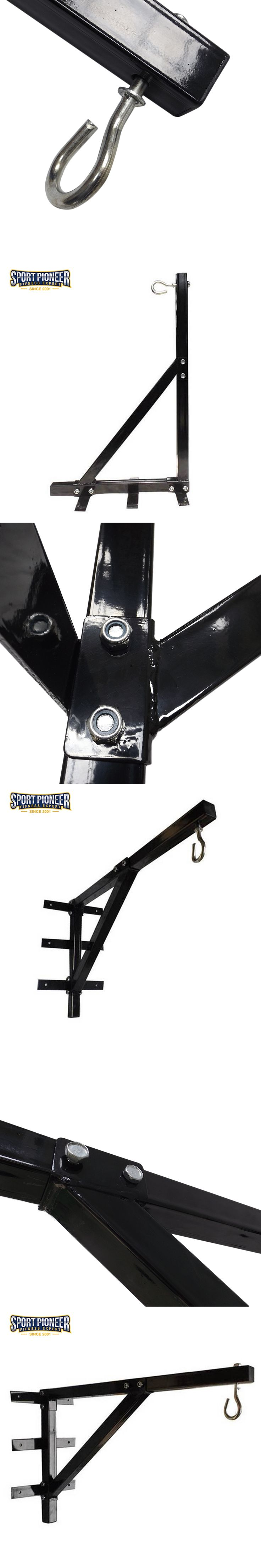 Heavy Duty Punch Bag Standard Wall Bracket Steel Mount Hanging Stand Boxing Punching Bag Stand