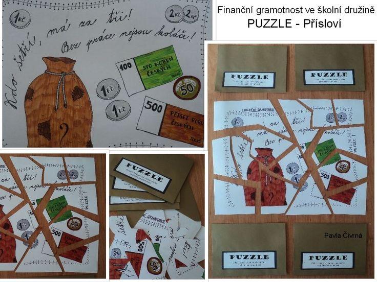 Finanční gramotnost - Puzzle