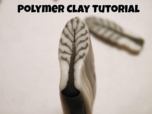 by Art Jewelry Elements. An enticing tutorial for making a polymer clay tree cane. Could do leaves this way? MonaRAEbeads.com
