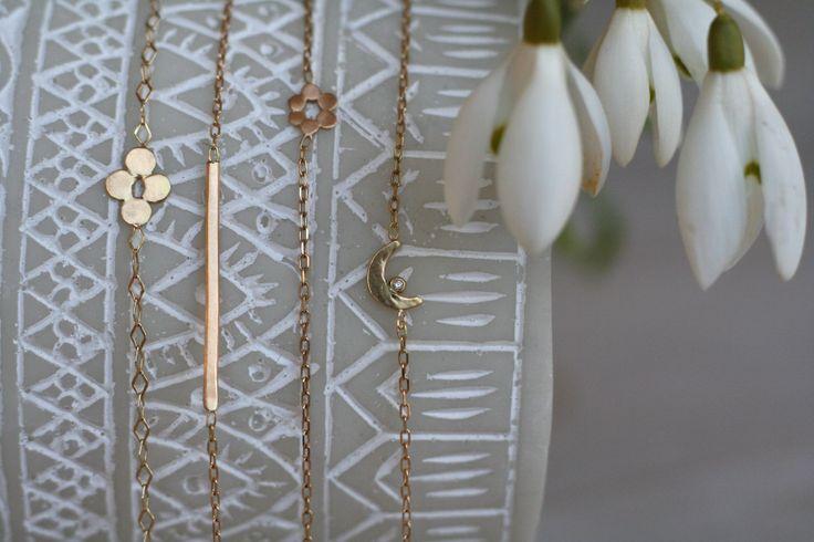 Simple and minimalistic bracelets for her #wedding #weddingbracelet #love