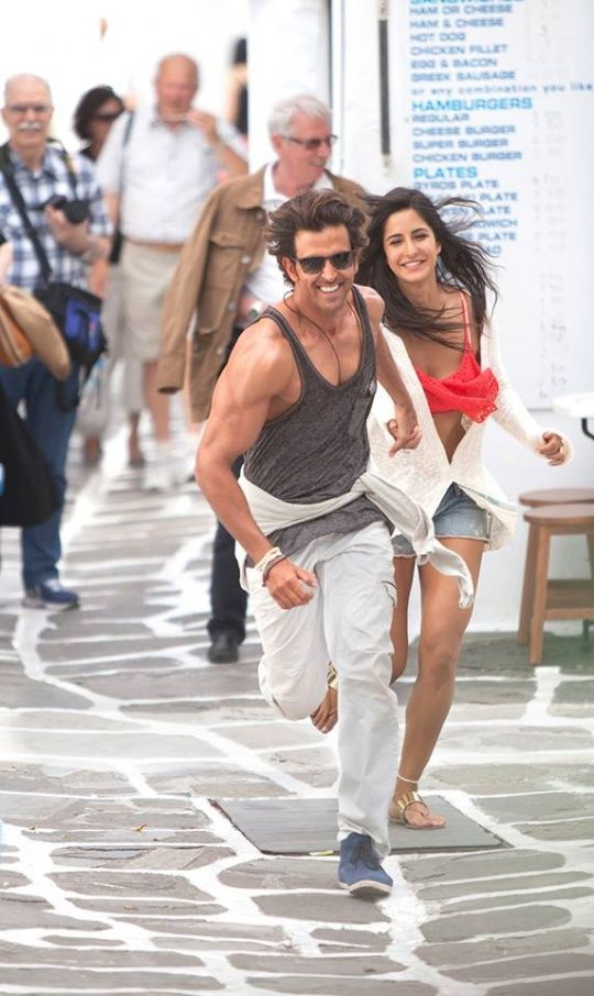 Hrithik Roshan and Katrina Kaif in Bang Bang! #Style #Bollywood #Fashion #Handsome #Beauty