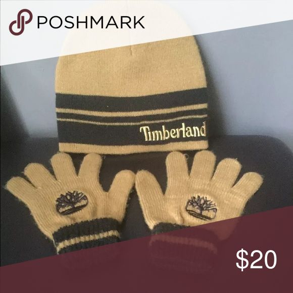 Timberland hat and gloves Timberland hat and gloves perfect for upcoming winter Timberland Other