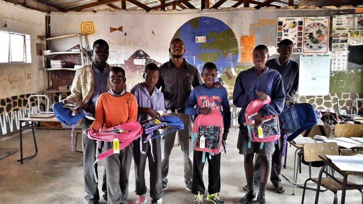 Pack a few small supplies and make a big impact #PackforaPurpose #SerraCafema #Namibia #CITW #makeadifference
