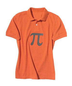 Last minute costume idea - pumpkin pi