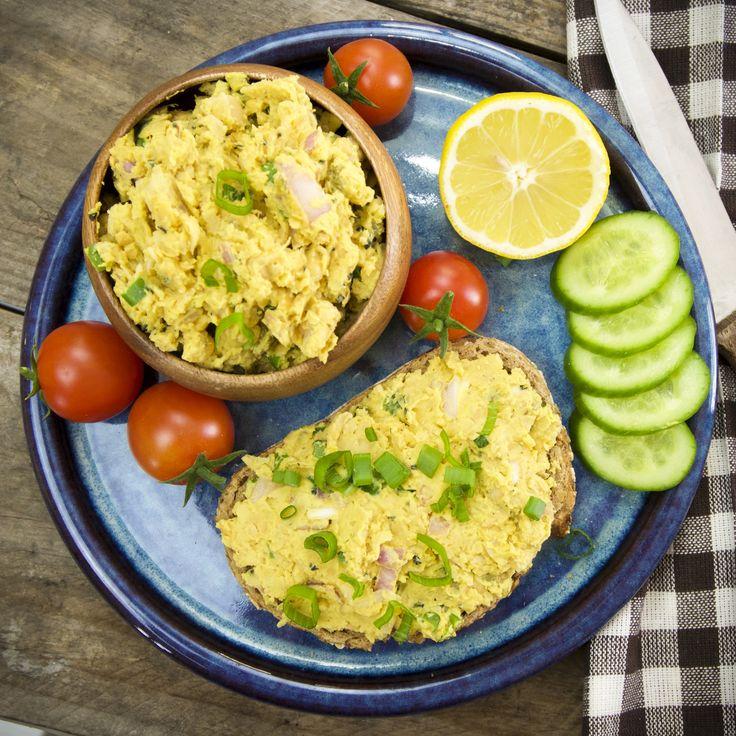 Chickpea Tuna-Style Salad - The Tasty K