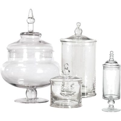 clear plastic sweet jars - Google Search
