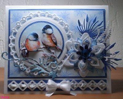Voorbeeldkaart - KO0421 - Categorie: Scrapkaarten - Hobbyjournaal uw hobby website