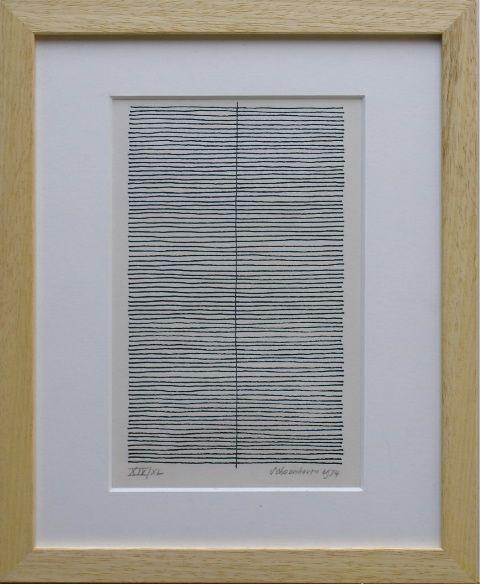 Jan schoonhoven | Compositie met lijnen | Kunsthandel Kunst + Interieur