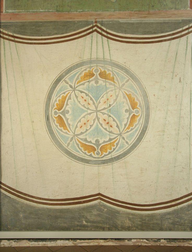 Музей фресок Дионисия - Медальоны - Юго-западный столб, западная грань