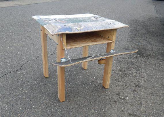 Skateboard Desk skateboard desk - home design
