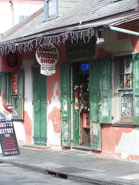 Rev. Zombie's Voodoo Shop New Orleans French Quarter