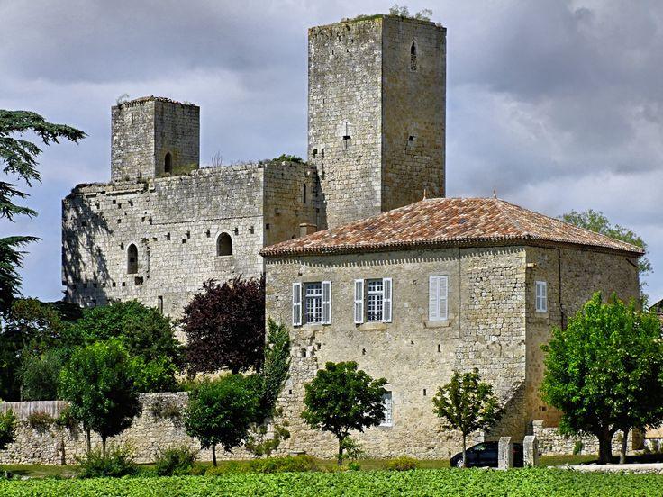 Lectoure (Gers) - Château de Ste-Mère - ancienne résidence des Evêques de Lectoure - XIIIème siècle