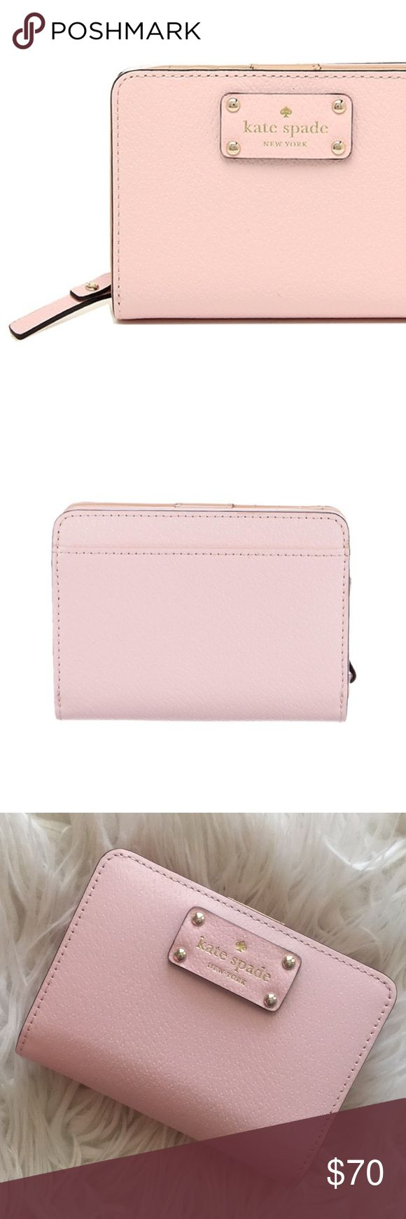Kate Spade Wellesley Cara Wallet Kate Spade Wellesley Cara Wallet - posypink  BRAND NEW, WITH TAGS!   Purchased a a couple months ago and never used it!  PERFECT for spring/summer 😍  Care card included! kate spade Bags Wallets