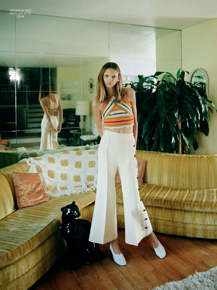 Molly Bair By Marlene Marino For CR Fashion Book