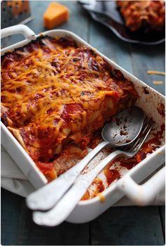 Enchiladas au boeuf et haricots rouges   chef Nini