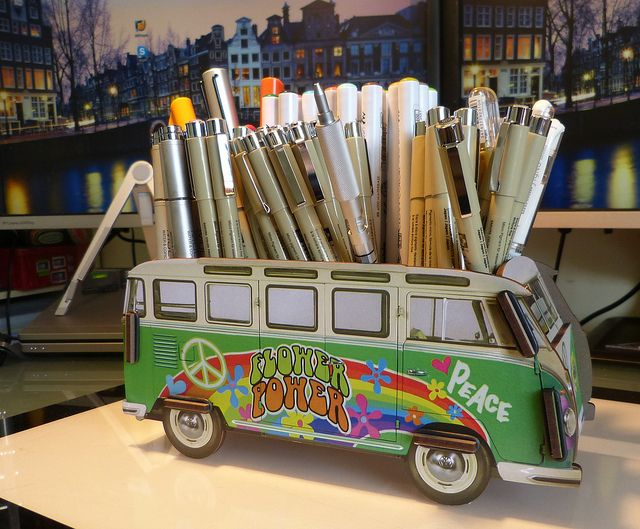 We are super impressed with the thoughtful designs from Werkhaus Germany. We brought in the Hippy Van pencil holder plus some other great styles.