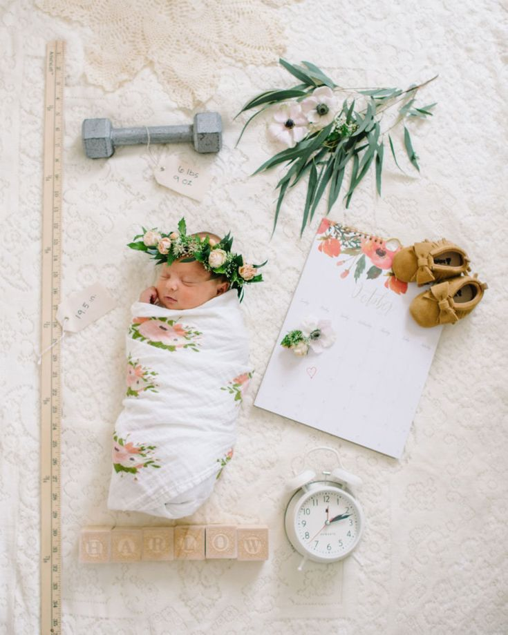 Newborn in her vintage nursery! Photographer : Corrina Walker Photography Read More on SMP: http://www.stylemepretty.com/living/2016/11/09/tour-the-sweetest-vintage-nursery/